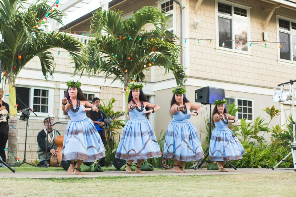 Hula Performance at Maui Country Club