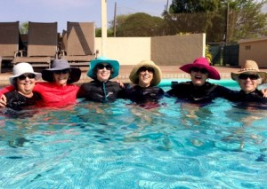 Pool Aerobics @ Maui Country Club - Swimming Pool