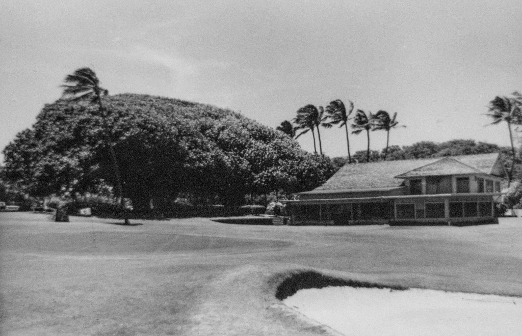 Maui Country Club Archival Photo of Club House