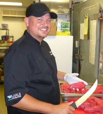 Chef Sean Christensen, Executive Chef, Maui Country Club