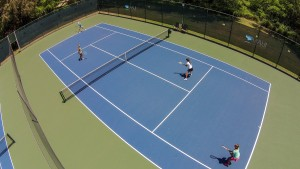 US Open Coaches Doubles Clinic with Tom Gullikson, Roger Anderson & Chani Anderson @ Maui Country Club Tennis & Pool Pavilion | Paia | Hawaii | United States