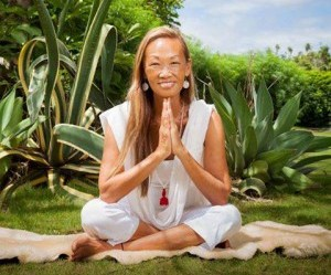 Ruby Wong, Yoga at Maui Country Club