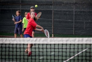 Junior Tennis Clinic: Intermediate 5 Years+ @ Maui Country Club Tennis Center