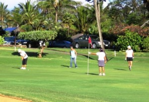 Ladies Golf Game @ Maui Country Club - Golf Course | Paia | Hawaii | United States
