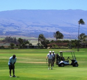 """Almost US Open"" Golf Tournament @ Maui Country Club - Golf Course 