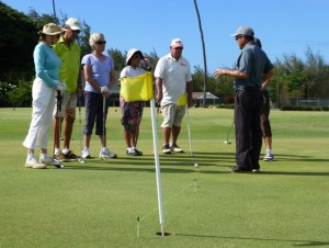 Putting Clinic at Maui Country Club