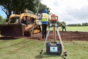 DHR Construction crew at Maui Country Club Golf Course
