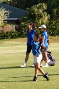 Bettina, Summer & Maile at Maui Country Club