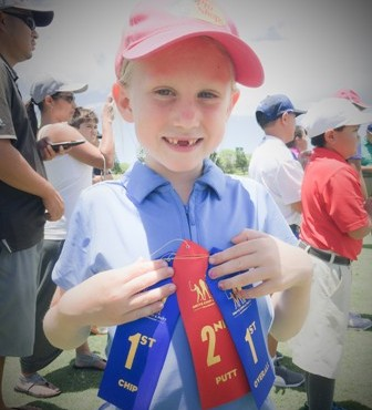 Hazel Peters wins Maui Golf Chip Putt