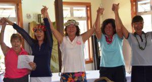 2016 Tournament Winners sing Hawaii Aloha