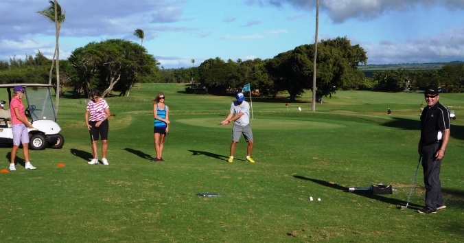 Free Golf Clinic for adults at Maui Country Club on Maui's North Shore