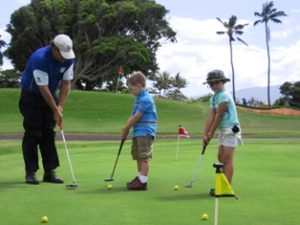 Free Introductory Lesson & Info on Maui CC Jr. Golf Academy @ Maui Country Club Golf Course