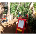 Keiki Korner outdoor creative path at Maui Country Cluf
