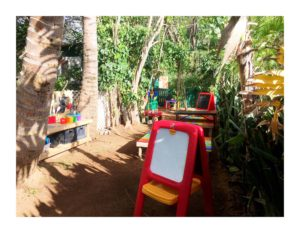 Keiki Korner outdoor creative path at Maui Country Club