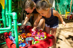 Art enrichment program at Maui Country Club