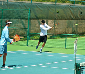 Saturday Night Doubles Exhibition Tennis @ Maui Country Club Tennis Center