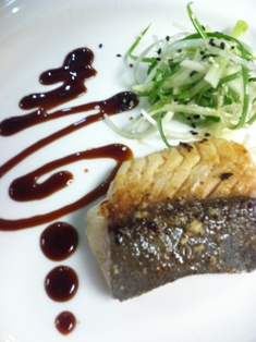 Miso butterfish at Maui Country Club