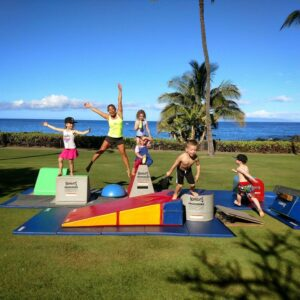 Gymnastics at Maui Country Club @ Maui Country Club - Makai Lawn