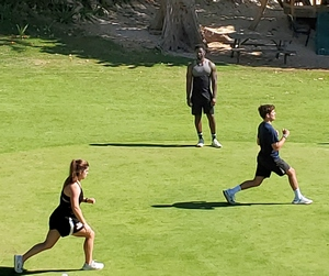 Racquet Fitness Workout @ Maui Country Club - Makai Lawn